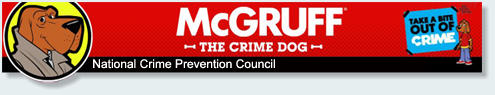 McGruff - the crime dog logo