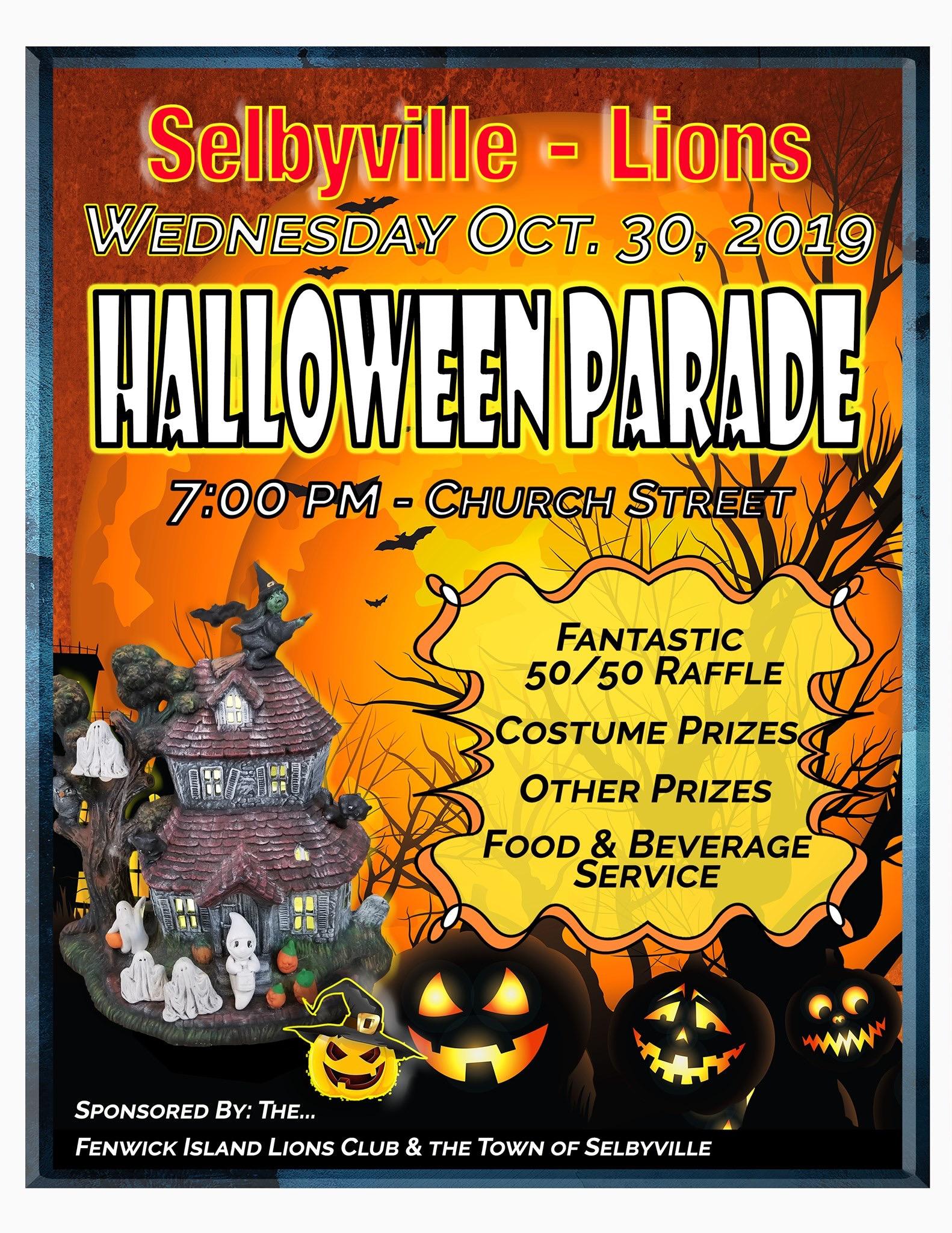 2020 Halloween Parade Selbyville De Halloween Parade